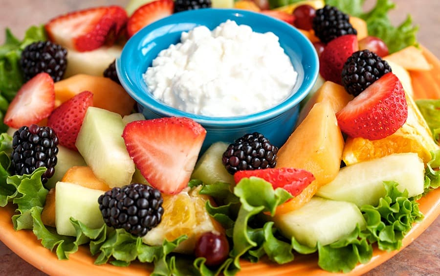 Cottage Cheese & Fruit